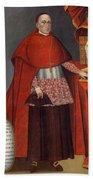 Bartholomew Fabro Y Palacios - Bishop Of Huamanga  Bath Towel