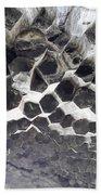 Basalt Rock Columns Formations Bath Towel