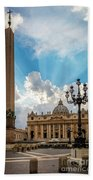 Basilica Papale Di San Pietro Hand Towel