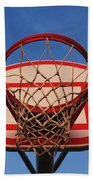 Basketball Hoop Bath Towel