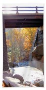 Bastion Falls Bridge 7 Bath Towel