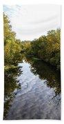 Batavia, Ohio Creek Vertical Bath Towel