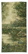 Bathers. Woodland Bath Towel