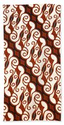 Batik  Bath Towel