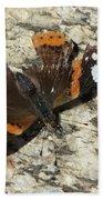 Battered Butterfly Bath Towel