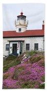 Battery Point Lighthouse Bath Towel