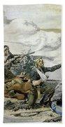 Battle Of Beecher's Island Bath Towel