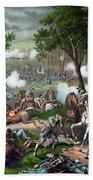 Battle Of Chancellorsville - Death Of Stonewall Bath Towel