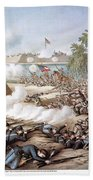 Battle Of Corinth, 1862 Bath Towel