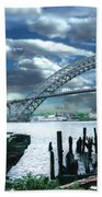 Bayonne Bridge Bath Towel