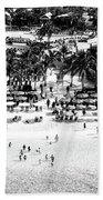 Beach At Grand Turk Hand Towel