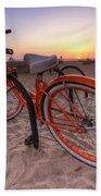 Beach Bike Bath Towel