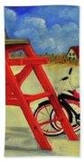 Beach Bikes Bath Towel
