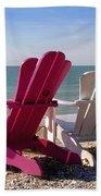 Beach Chairs Hand Towel