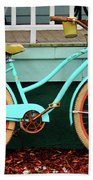 Beach Cruiser Bike Bath Towel