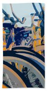 Beach Cruisers At Dawn Bath Towel