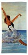 Beach Dancer Bath Towel