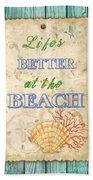 Beach Notes-jp3761 Bath Towel