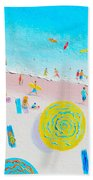 Beach Painting - Lazy Lingering Days Bath Towel