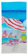 Beach Painting - Summer Beach Vacation Hand Towel