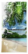 Beach Puzzle Bath Towel