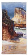 Beach Rocks Bath Towel