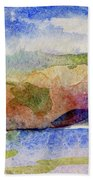 Beach Rocks Bath Towel