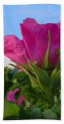 Beach Rose Bath Towel