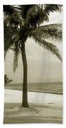 Beach Scene In Key West Bath Towel