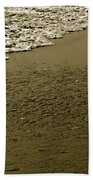 Beach Texture Bath Towel