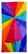 Beach Umbrella's Cell Phone Art Bath Towel