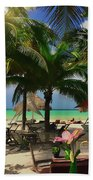 Beach Vacation Bath Towel