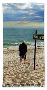 Beach Walking Bath Towel