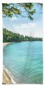 Beaches Of The Pacific Northwest Bath Towel
