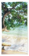 Beachscape Tree Bath Towel