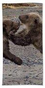 Bear Play Bath Towel