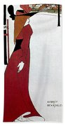 Beardsley: Poster Design Hand Towel