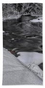 Bearskin Creek Riffles Bath Towel