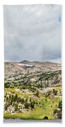 Beartooth Mountains Panorama Bath Towel