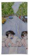 Beatles Abbey Road .... Babies Bath Towel