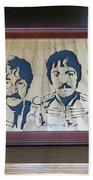 Beatles Sgt Pepper Bath Towel