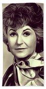 Beatrice Arthur, Vintage Actress Bath Towel