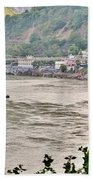 Beautiful Afternoon On The Ganges Hand Towel