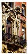 Beautiful Balcony In Austria Bath Towel