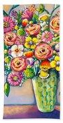 Beautiful Bouquet Hand Towel
