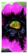 Beautiful Flower Hand Towel by Annette Allman