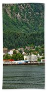 Beautiful Juneau Alaska Bath Towel
