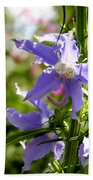 Tall Bellflower Bath Towel