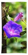 Beautiful Railroad Vine Flower II  Bath Towel