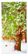 Beautiful Winter Tree Bath Towel
